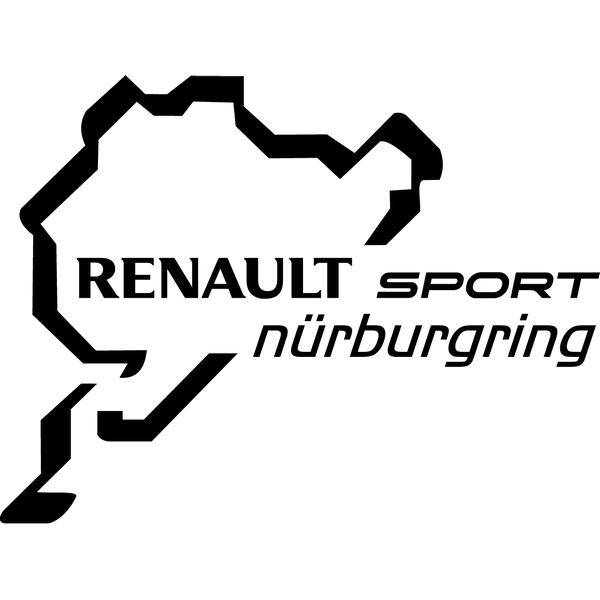 Наклейка Renault Nurburgring, фото 13