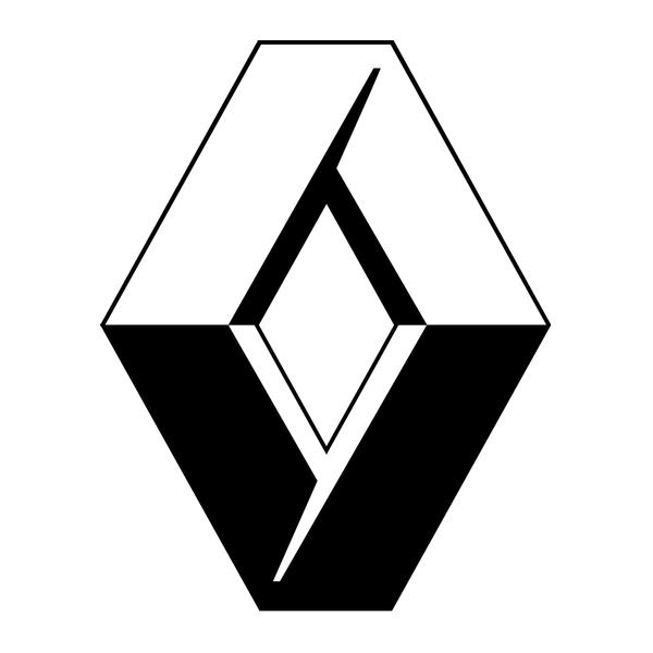 Наклейка Renault logo, фото 13