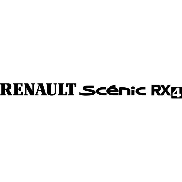 Наклейка Renault Scenic RX4, фото 13