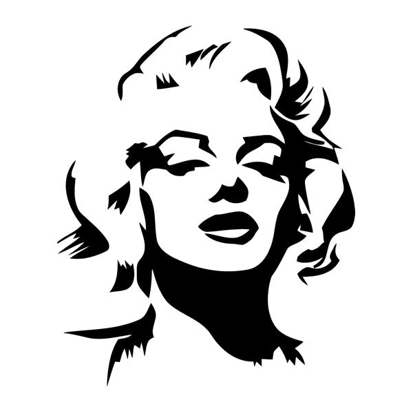 Наклейка Мэрилин Монро, фото 13