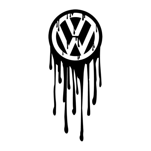 Наклейка VW zombie, фото 13