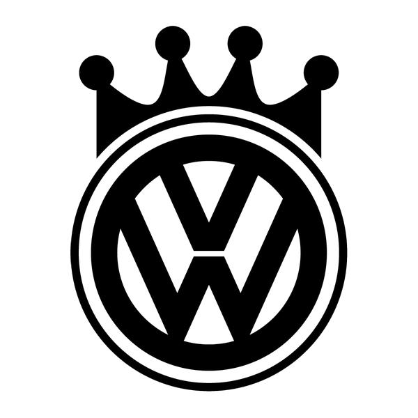 Наклейка VW king, фото 13