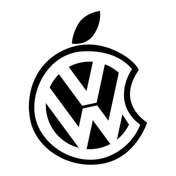 Наклейка VW apple, фото 13