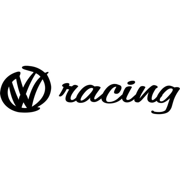 Наклейка VW racing, фото 13