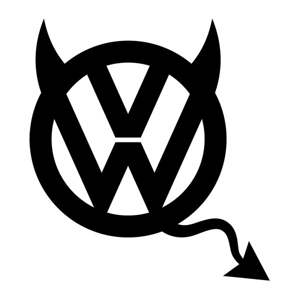 Наклейка VW devil, фото 13