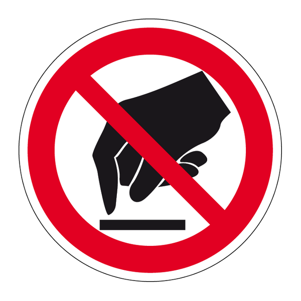 Наклейка Знак P 08, фото 1
