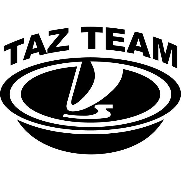 Наклейка Taz team, фото 13