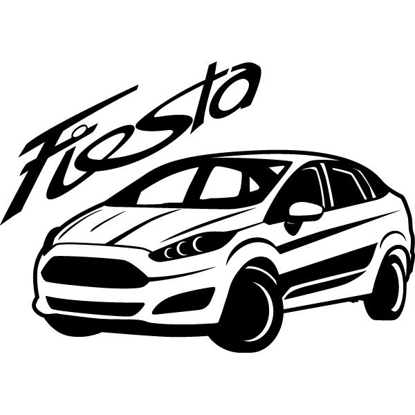 Наклейка Fiesta, фото 13