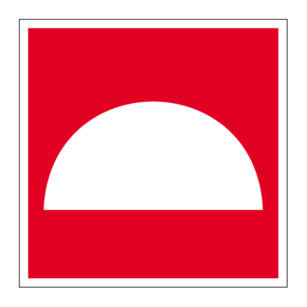 Наклейка Знак F 06, фото 1