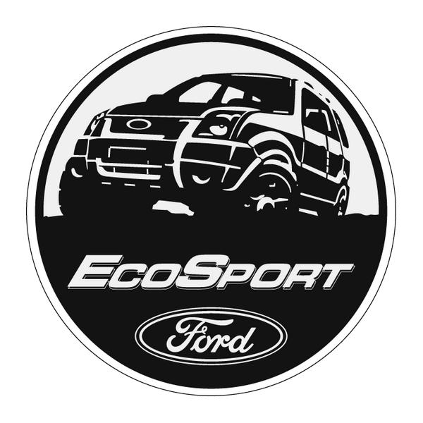 Наклейка EcoSport, фото 1