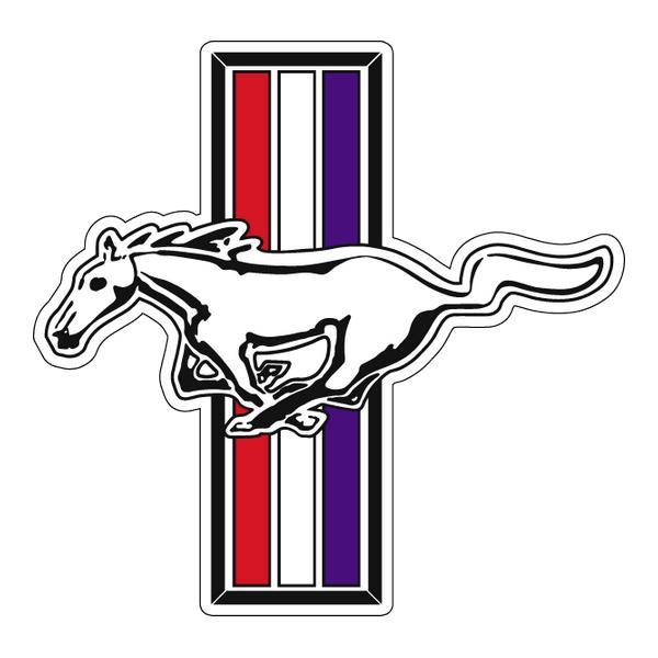 Наклейка Mustang, фото 1