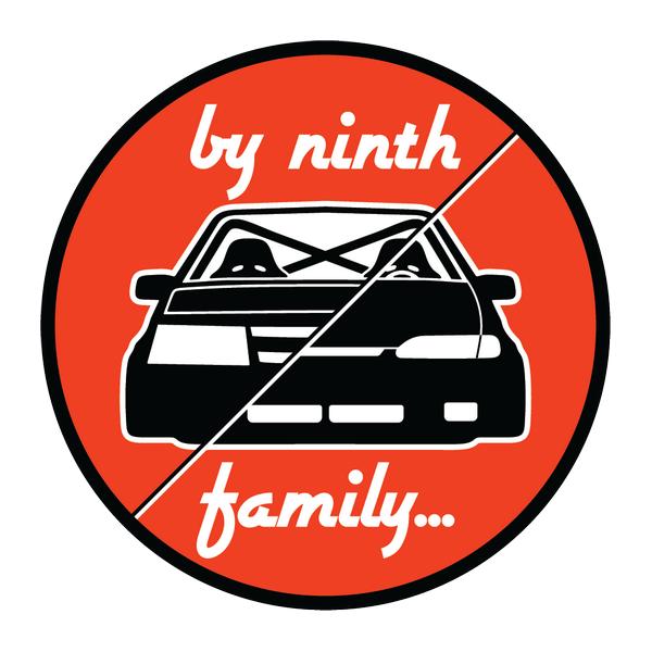 Наклейка By ninth family, фото 1