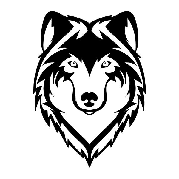 Наклейка Волк, фото 13
