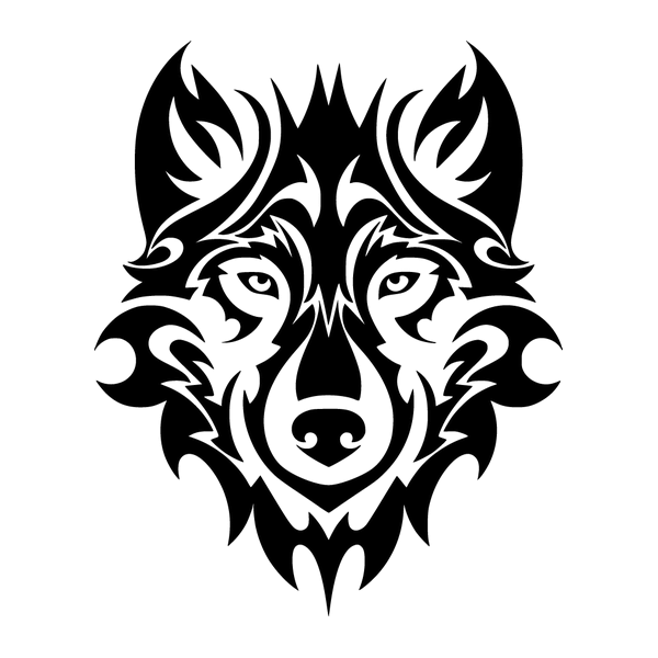 Наклейка Волк-002, фото 13