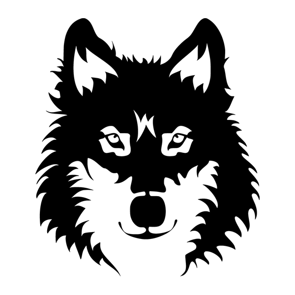 Наклейка Волк-003, фото 13