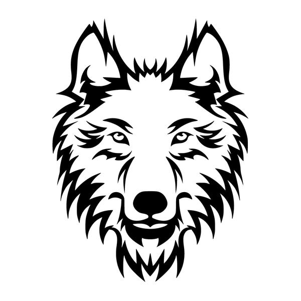 Наклейка Волк-004, фото 13