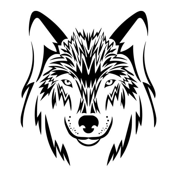 Наклейка Волк-005, фото 13