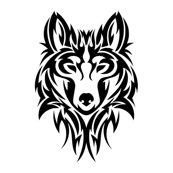 Наклейка Волк-007, фото 13
