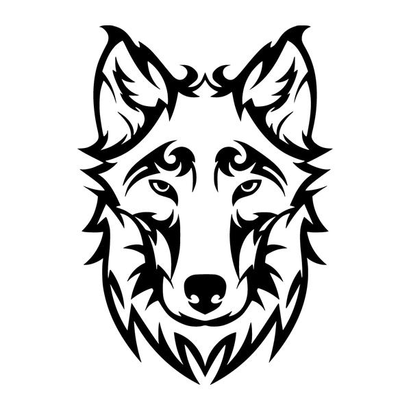 Наклейка Волк-008, фото 13