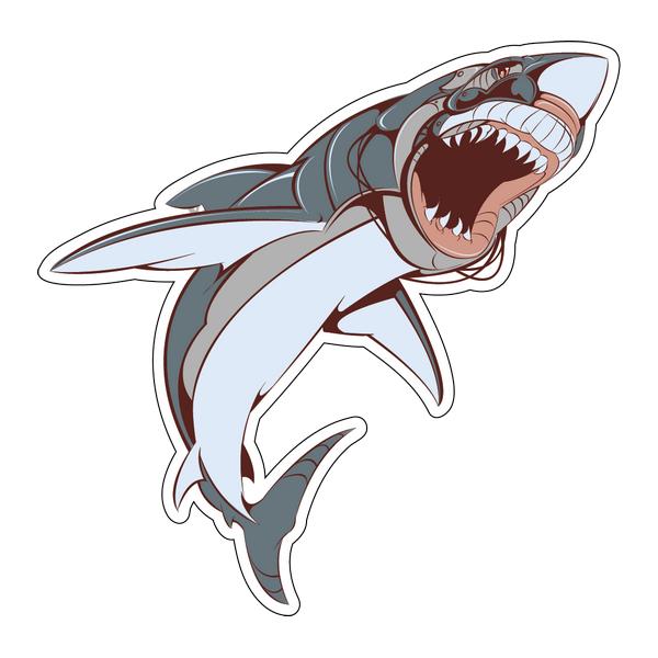 Наклейка Акула-004, фото 1