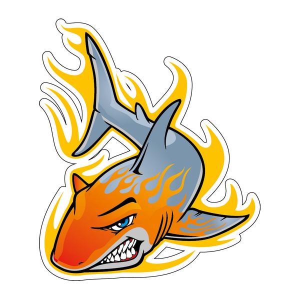 Наклейка Акула-005, фото 1