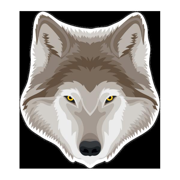 Наклейка Волк-027, фото 1