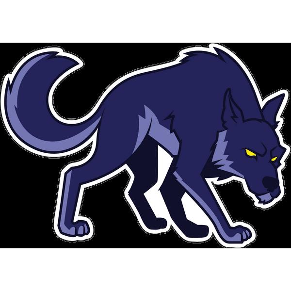 Наклейка Волк-030, фото 1