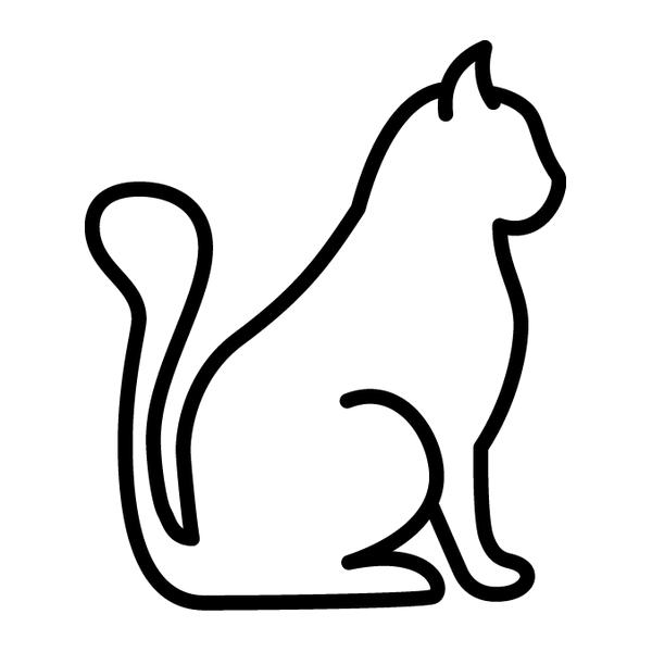 Наклейка Котик, фото 13