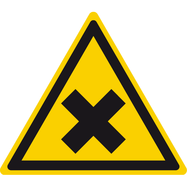 Наклейка Знак W 18, фото 1
