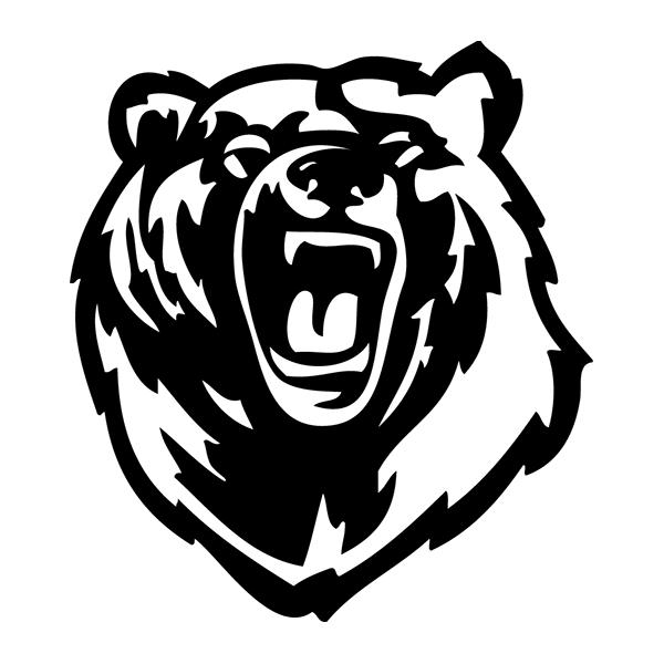 Наклейка Медведь, фото 13