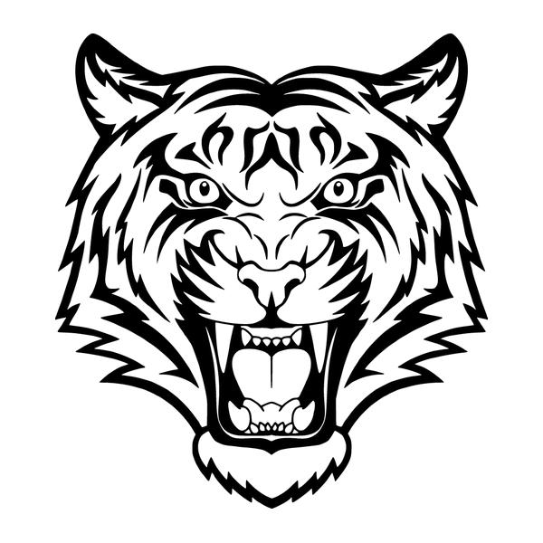 Наклейка Тигр-005, фото 13