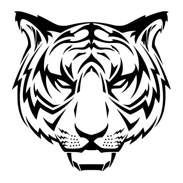 Наклейка Тигр-017, фото 13