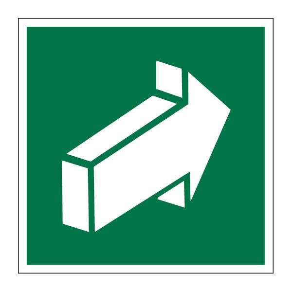 Наклейка Знак Е 18, фото 1