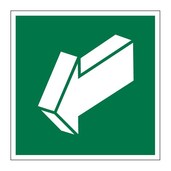 Наклейка Знак Е 19, фото 1