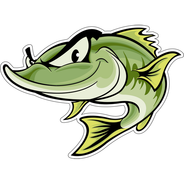 Наклейка Рыба, фото 1