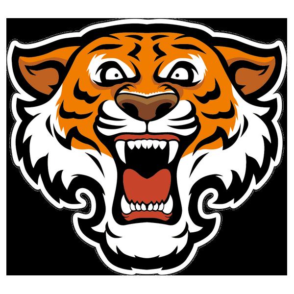 Наклейка Тигр-001, фото 1