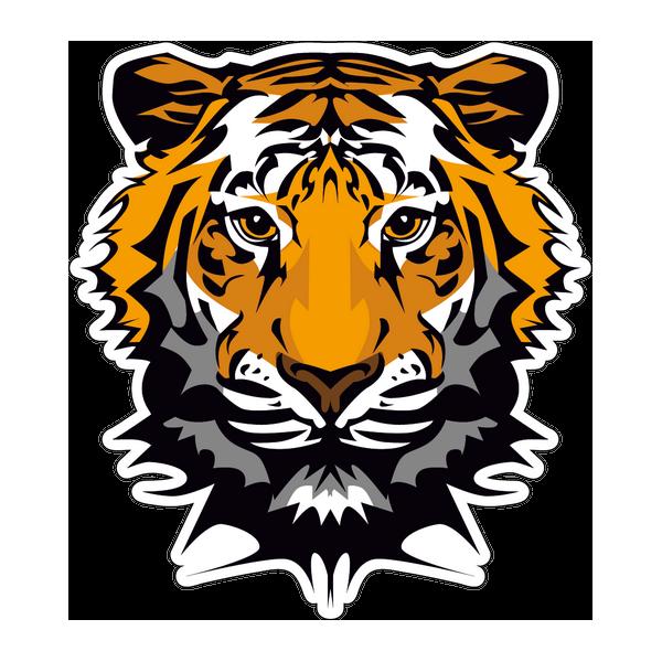 Наклейка Тигр-011, фото 1