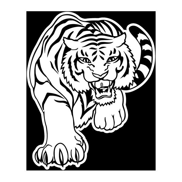 Наклейка Тигр-016, фото 1