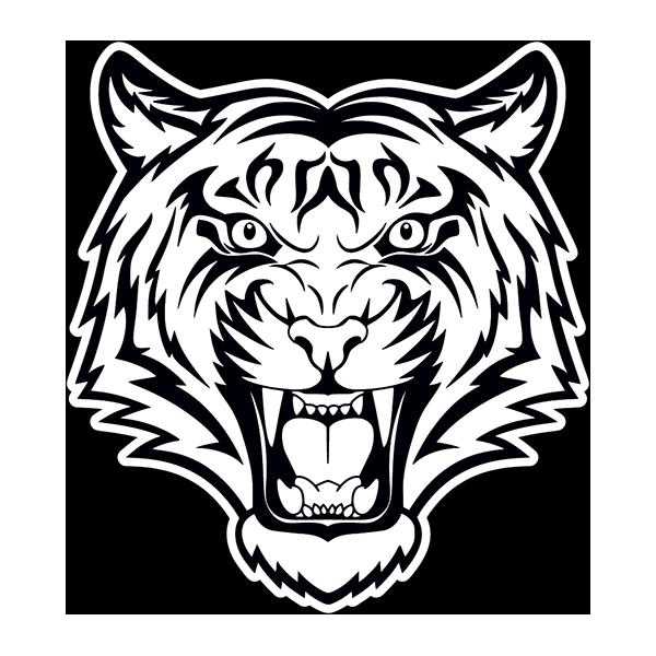 Наклейка Тигр-018, фото 1