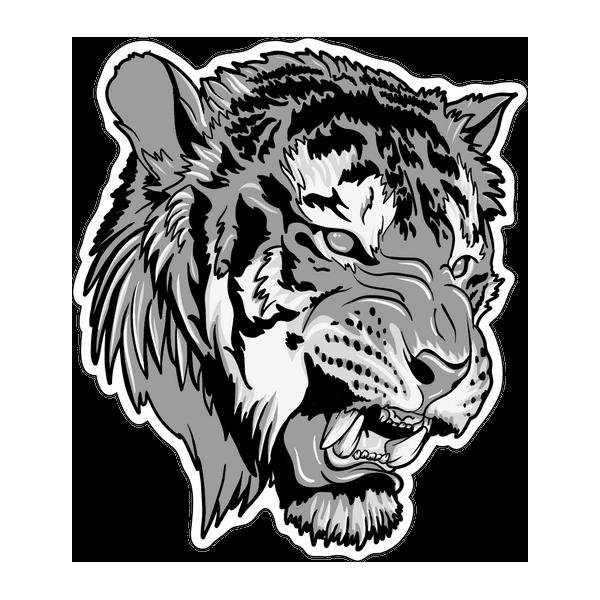 Наклейка Тигр-021, фото 1