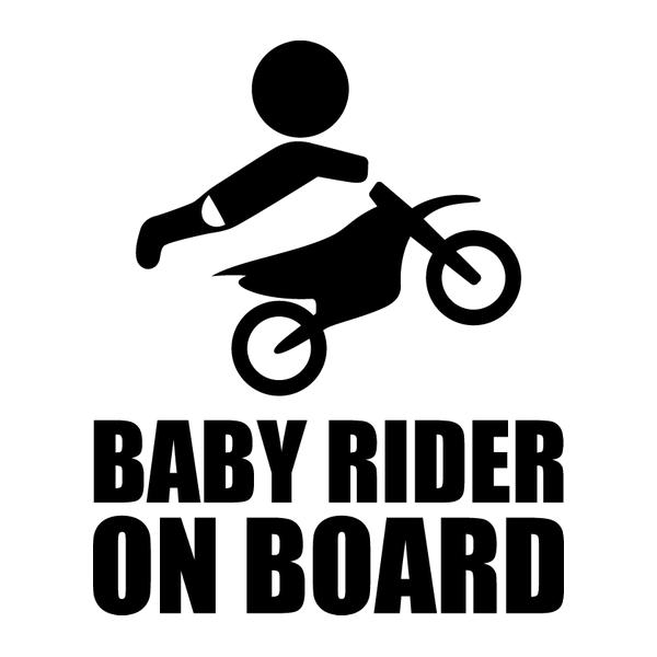 Наклейка Baby rider on board, фото 13