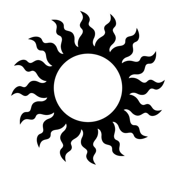 Наклейка Солнце, фото 13