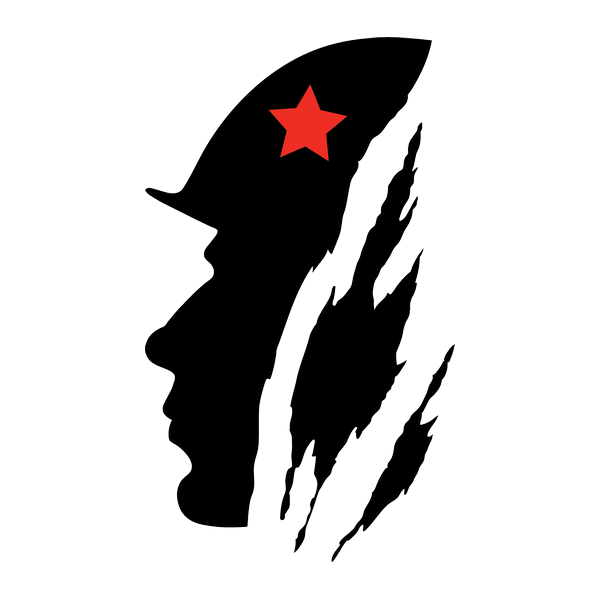 Наклейка Солдат, фото 3