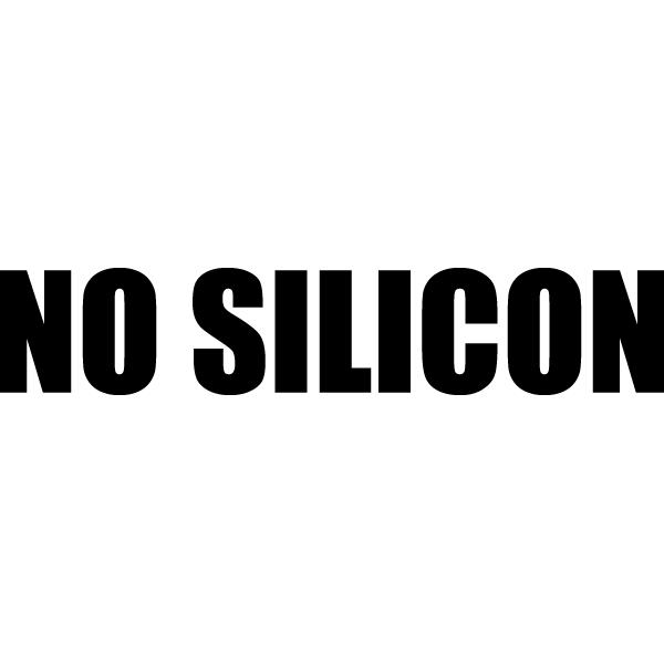 Наклейка No silicon, фото 13
