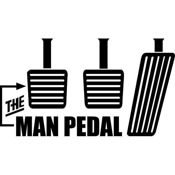 Наклейка The man pedal, фото 13