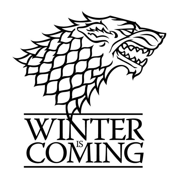 Наклейка  Winter is coming, фото 13