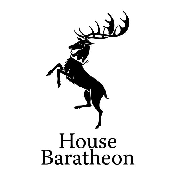 Наклейка House Baratheon, фото 13