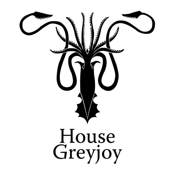 Наклейка House Greyjoy, фото 13
