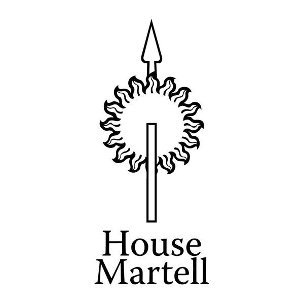 Наклейка House Martell, фото 13