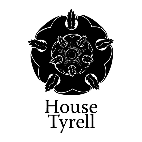 Наклейка House Tyrell, фото 13